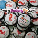 Bikin Pin Murah 280 Pin GK 2 sisi Oleh-Oleh Makassar-Kareba
