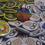 Bikin Pin Murah – Pin Peniti 4.4cm 100pcs Universitas di Yogyakarta