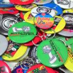 Bikin Pin Murah – Pin Gantungan Kunci Cermin 5.8cm 300pcs Raminten di Yogyakarta