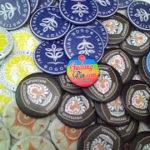 Bikin Pin Murah – Pin Peniti 5,8cm Logo Universitas di Yogyakarta