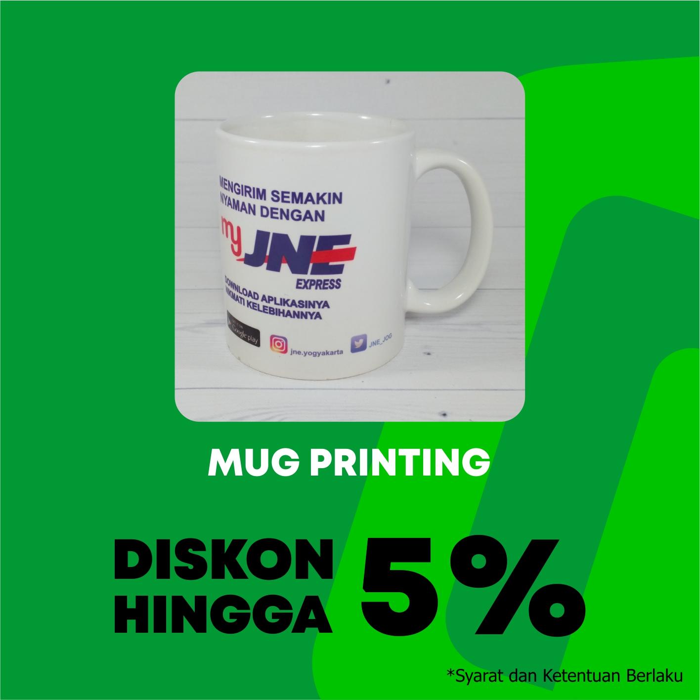 Promo Diskon Hingga 5% Mug Printing