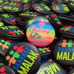 Bikin Pin Murah – Pin peniti 4,4cm 100pcs Sahabar Malak di Jakarta