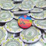 Bikin Pin Murah – pin peniti 300pcs Ikatan Alumni SMP Muhammadiyah 2 di Tarakan