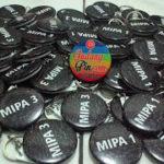 Bikin Pin Murah – Pin Gantungan Kunci Botol 4,4cm 61pcs Mipa di Yogyakarta
