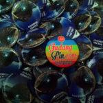 Bikin Pin Murah – Pin Gantungan Kunci Polos 4,4cm 100pcs Wuki Travei di Yogyakarta