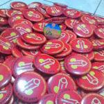 Bikin Pin Murah – Pin Peniti 5,8cm 150pcs RSKB An Nur di Yogyakarta