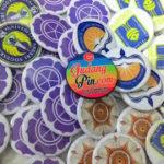 Bikin Pin Murah – Pin Peniti 4,4cm 100pcs Logo Universitas di Yogyakarta