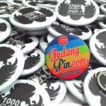 Bikin Pin Murah – Pin Gantungan Kunci Buka Botol 5,8cm 100pcs 1000 Guru Jogja di Yogyakarta