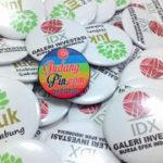 Bikin Pin Murah – pin Peniti 5,8 72pcs Bursa Efek Indonesia di Yogyakarta