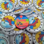 Bikin Pin Murah – Pin Magnet 5,8cm 100pcs Taman Nasional Komodo di Kudus