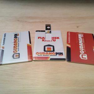 Flashdisk Kartu USB Card Souvenir Promosi Murah Gudangpin 2